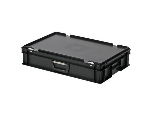 Koffer - 600x400xH135mm - zwart