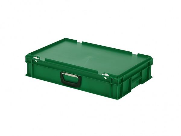 Koffer - 600x400xH135mm - groen