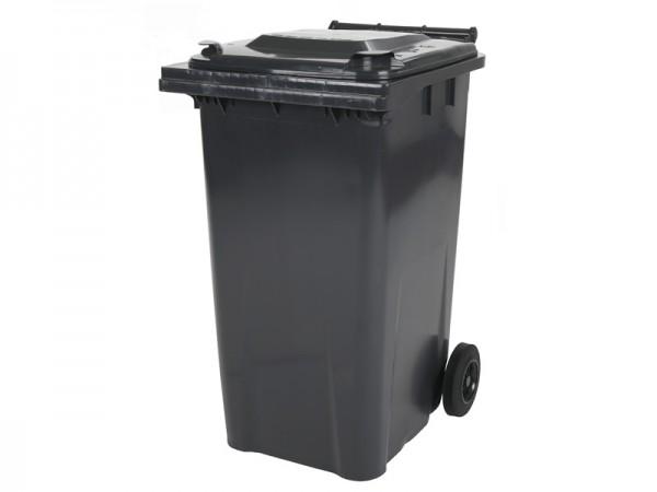 2-wiel afvalcontainer - 240 liter - grijs