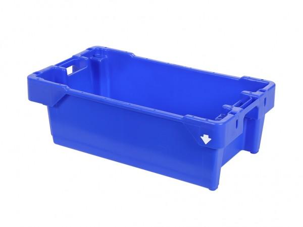 Viskist - 800x450xH270mm - 40kg - 60l - blauw