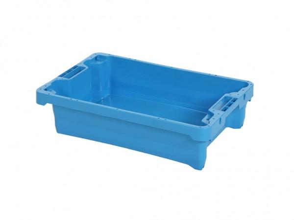 Filetkist - 600x400xH150mm - 15kg - 20l - lichtblauw
