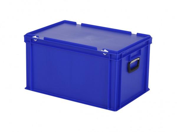 Koffer - 600x400xH335mm - blauw