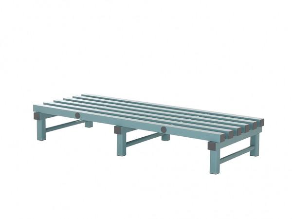 Kunststof opslagrooster - 1500x600xH250mm