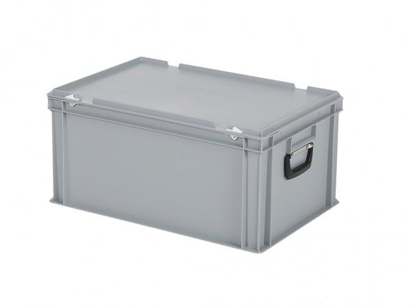 Koffer - 600x400xH295mm - grijs