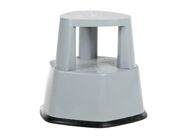 Opstap rolkruk - 480xH430mm - grijs
