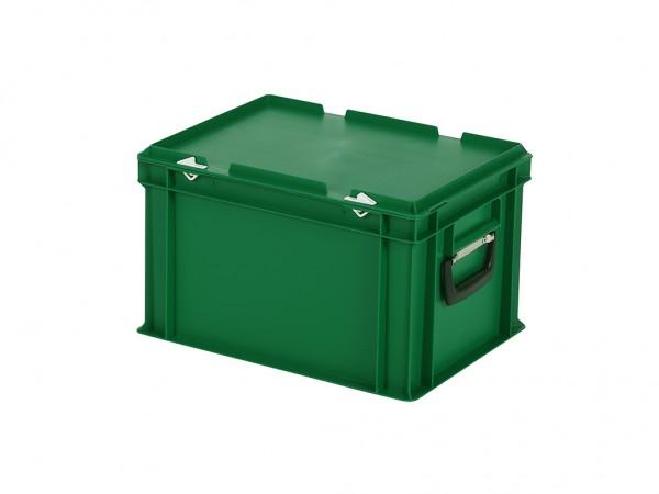 Koffer - 400x300xH250mm - groen