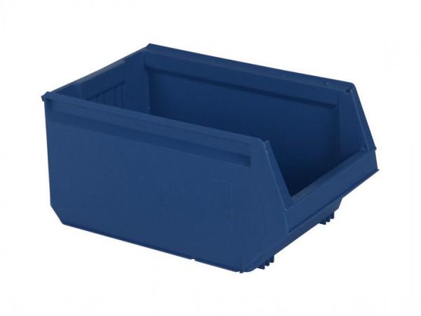 Kunststof magazijnbak - 500x310xH250mm - blauw