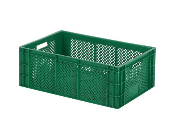 Stapelkrat - 600x400xH223mm - groen