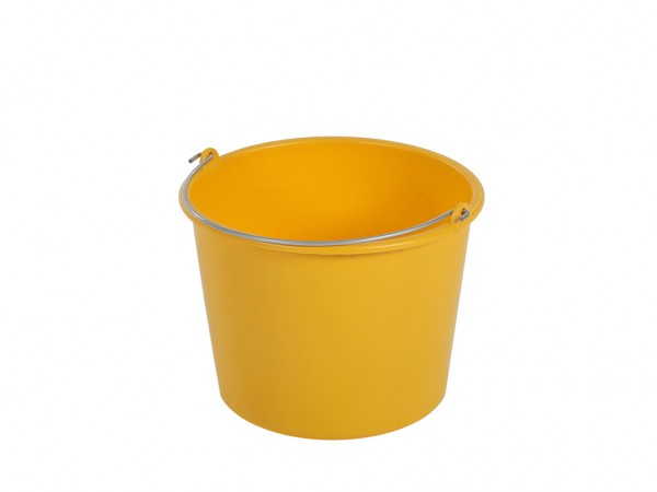 Emmer 12 liter - normal duty - geel