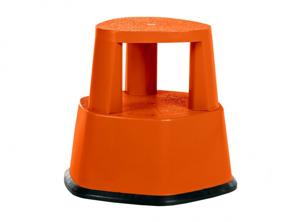 Opstap rolkruk - 480xH430mm - oranje
