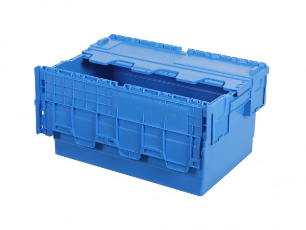 Distributiebak 600x400xH315mm - blauw