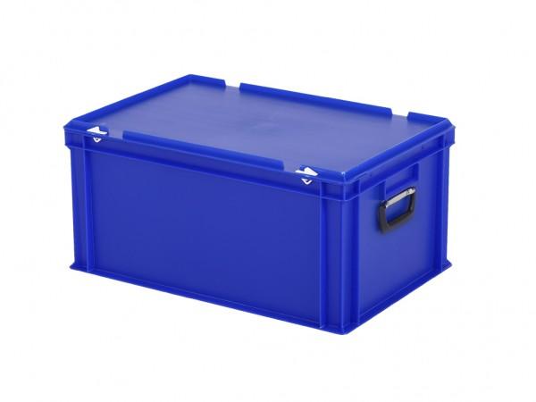 Koffer - 600x400xH295mm - blauw