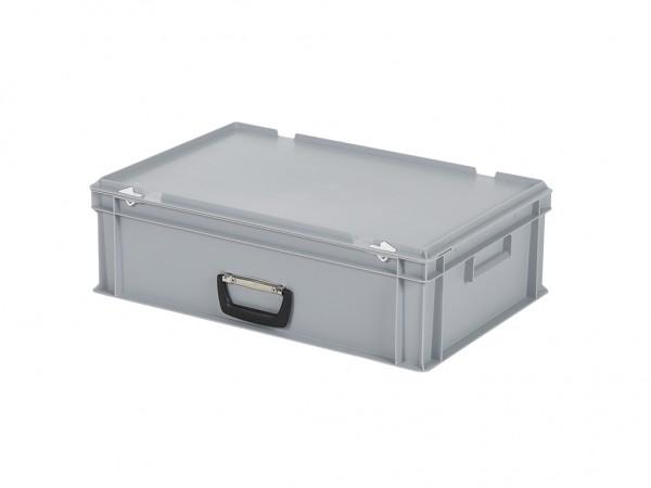 Koffer - 600x400xH185mm - grijs