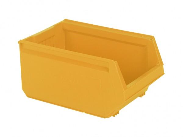 Kunststof magazijnbak - 500x310xH250mm - oranjegeel