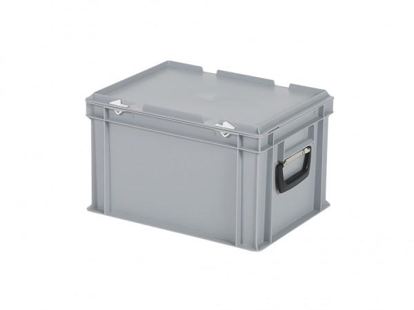 Koffer - 400x300xH250mm - grijs