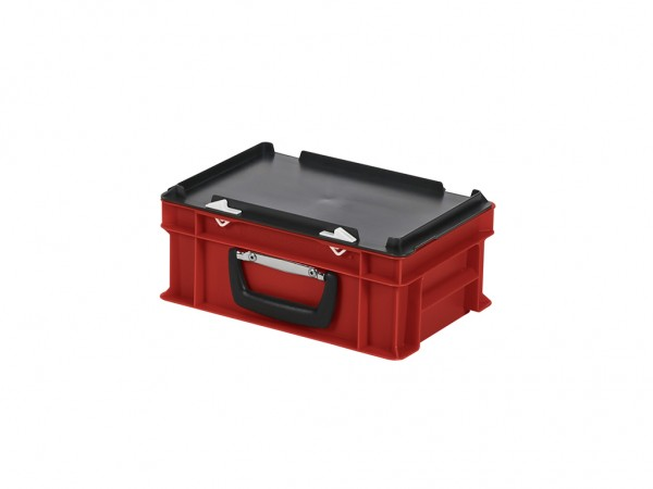 Koffer - 300x200xH133mm - rood