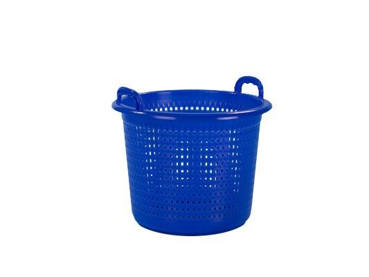 Industriemand / Wasmand 45 liter - blauw