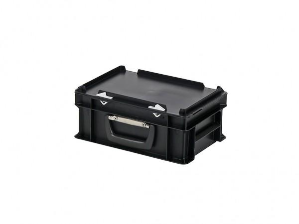 Koffer - 300x200xH133mm - zwart