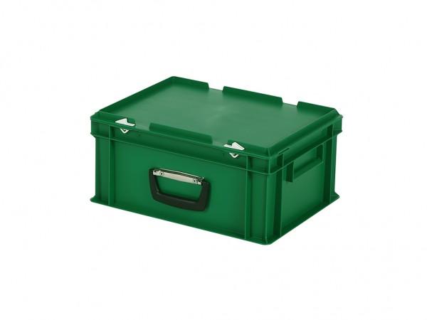 Koffer - 400x300xH190mm - groen