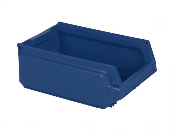 Kunststof magazijnbak - 500x310xH200mm - blauw
