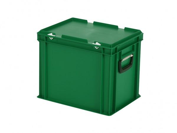 Koffer - 400x300xH335mm - groen