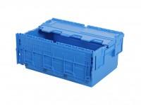 Distributiebak 600x400xH265mm - blauw 30.625.D1