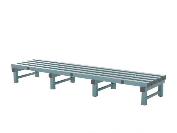 Kunststof opslagrooster - 2000x500xH250mm