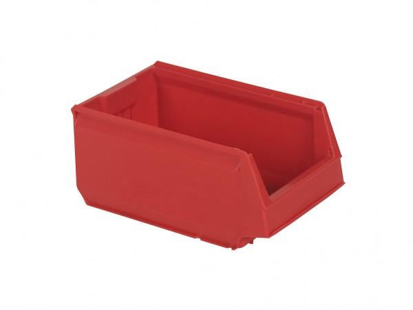Kunststof magazijnbak - 350x206xH150mm - rood
