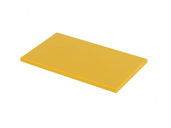 Kunststof snijplank - 500x300x20mm - geel