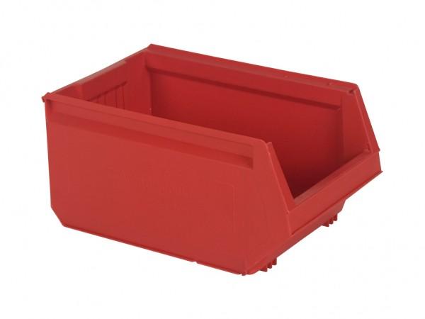 Kunststof magazijnbak - 500x310xH250mm - rood