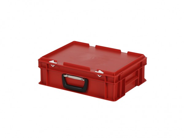 Koffer - 400x300xH133mm - rood