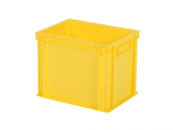 Stapelbak / Bordenbak - 400x300xH320mm - geel