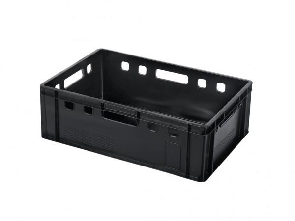 Stapelbak E2 - 600x400xH200mm - zwart