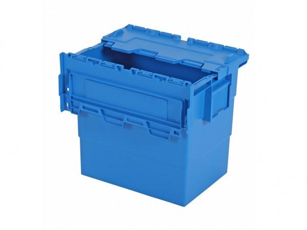Distributiebak 400x300xH365mm - blauw