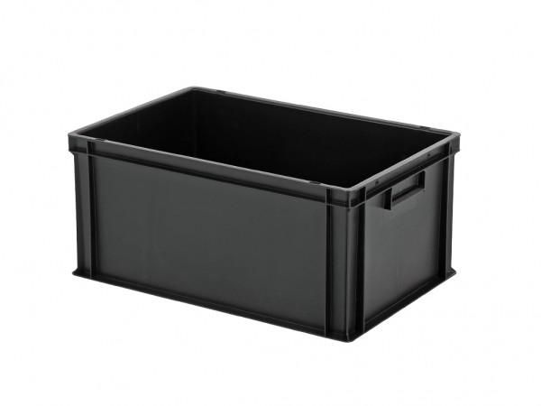 Stapelbak - 600x400xH280mm - zwart