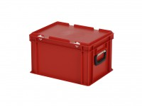 Koffer - 400x300xH250mm - rood 30.424.KO.4