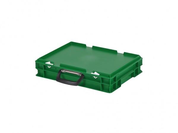 Koffer - 400x300xH90mm - groen