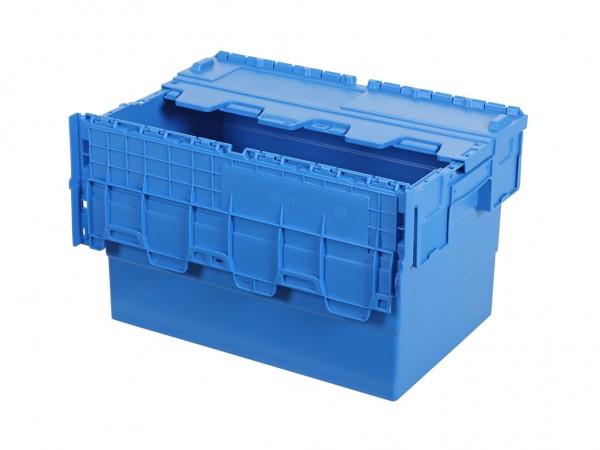 Distributiebak 600x400xH365mm - blauw