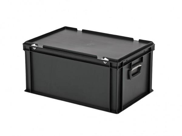 Koffer - 600x400xH295mm - zwart