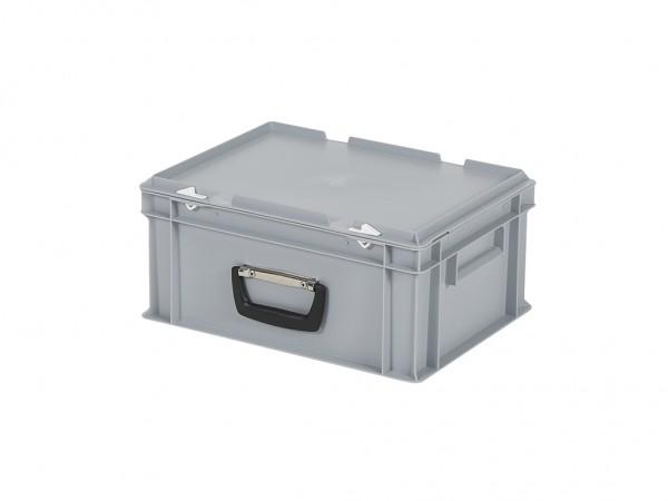 Koffer - 400x300xH190mm - grijs