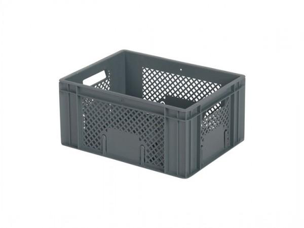Stapelkrat / Fietskrat - 400x300xH193mm - grijs