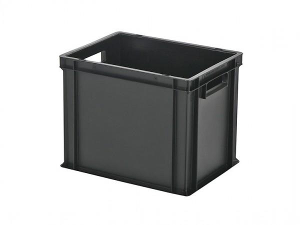 Stapelbak / Bordenbak - 400x300xH320mm - zwart