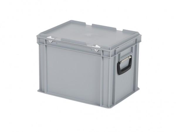 Koffer - 400x300xH295mm - grijs
