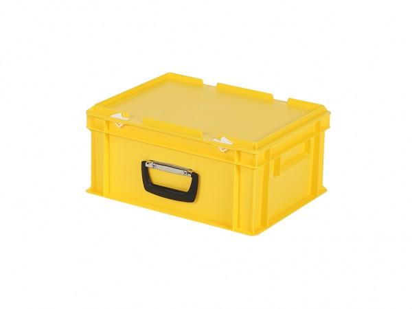 Koffer - 400x300xH190mm - geel