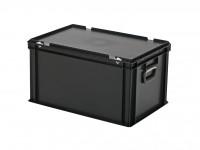 Koffer - 600x400xH335mm - zwart 30.632.KO.10