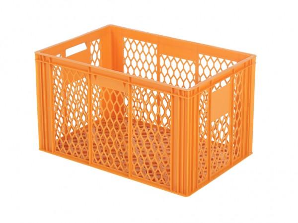 Stapelkrat - 600x400xH349 mm - oranje