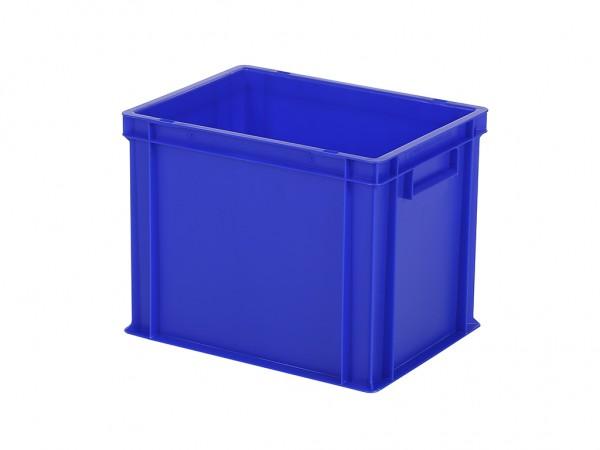 Stapelbak / Bordenbak - 400x300xH320mm - blauw