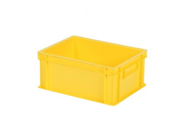 Stapelbak / Bordenbak - 400x300xH175mm - geel
