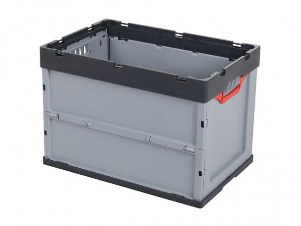 MULTIWAY SOLID LINE vouwbox - 600 x 400 x H 420 mm - grijs