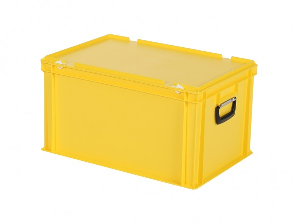 Koffer - 600x400xH335mm - geel